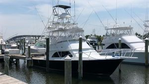 Used Liberty 42 Flybridge Sports Fishing Boat For Sale