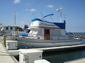 Used Chb Aft Cabin (tri) Trawler Boat For Sale