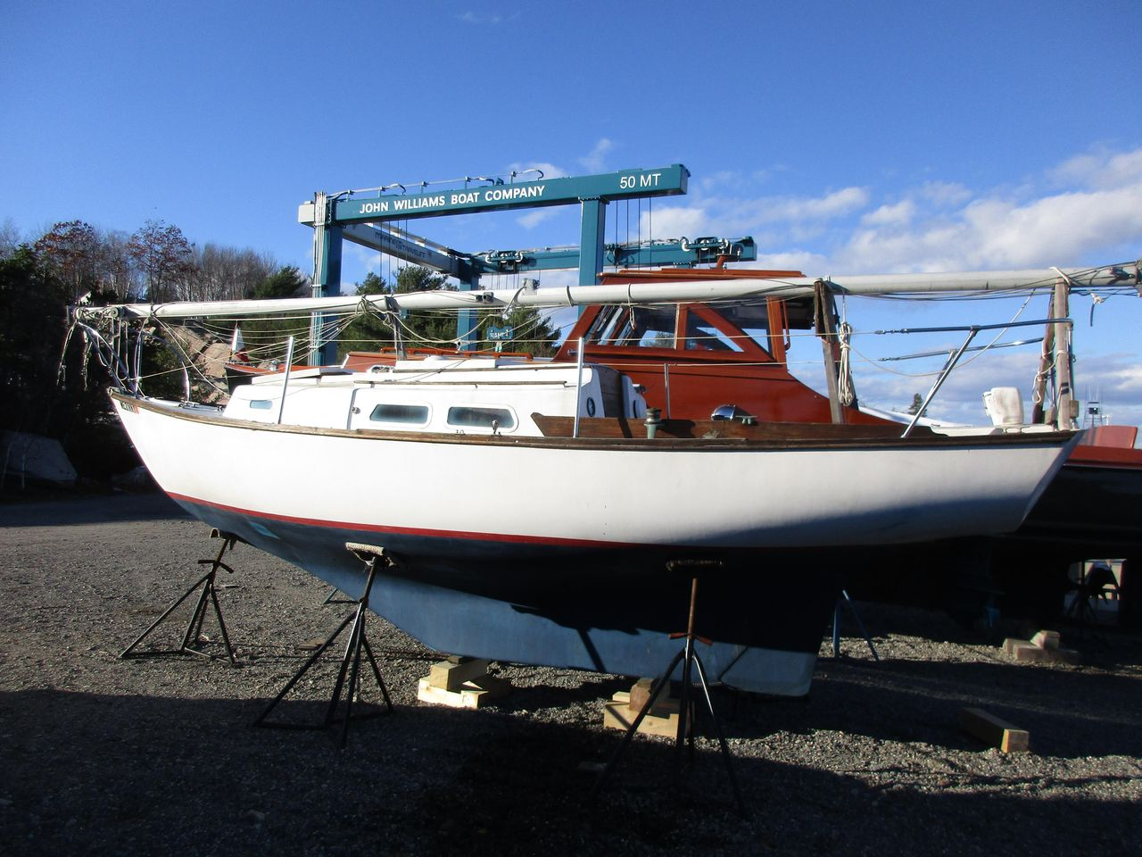 1974 Used Cape Dory 25 Sloop Sailboat For Sale - $6,950 - Mount