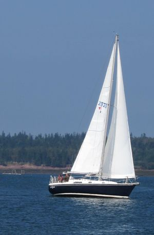 Used Pearson 10M Sloop (hull #150) Sloop Sailboat For Sale