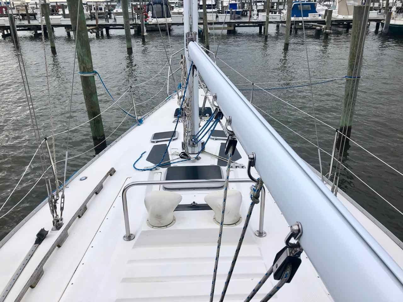 ... Used Hunter 34 Sloop Sailboat For Sale ...