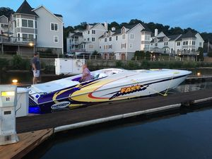 Used Active Thunder 37 Excess High Performance Boat For Sale