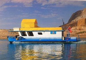 Used Boatel Pontoon Houseboat House Boat For Sale