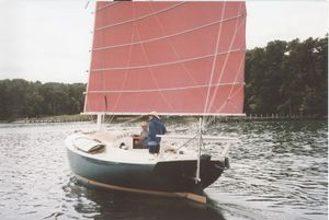 Used Custom Atkins With Junk Rig Cruiser Sailboat For Sale