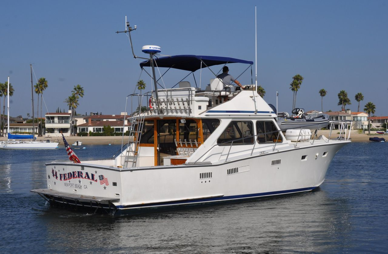 1977 Used Pacifica Sportfisher Sports Fishing Boat For