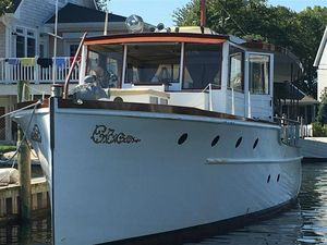 Used Elco 50 Flat Top Classic MY Motor Yacht For Sale