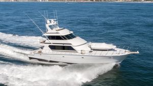 Used Hatteras 82 Convertible Motor Yacht For Sale