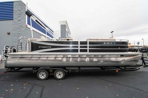 Used Cypress Cay Sea Breeze 250 Pontoon Boat For Sale