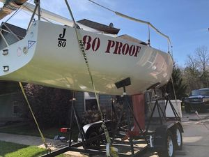Used J Boats J/80 Racer and Cruiser Sailboat For Sale
