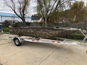 New Excel 1854 Shallow Water F4 Pro Freshwater Fishing Boat For Sale