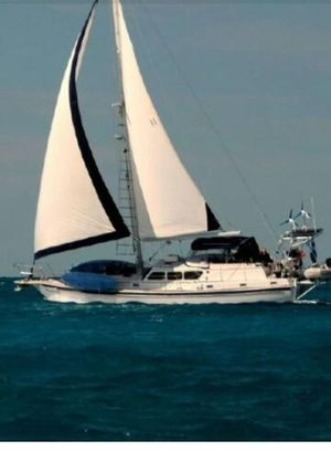 Used Gulfstar 47 Sailmaster Classic Beauty Cruiser Sailboat For Sale