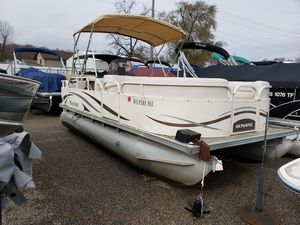 Used Monark Fantasy 200 Pontoon Boat For Sale