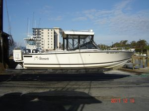 Used Albemarle 24 Express Cuddy Cabin Boat For Sale