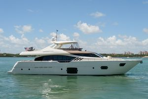 Used Ferretti Yachts 870 Motor Yacht For Sale