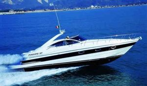 Used Pershing 37' Express Cruiser Boat For Sale