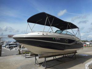 Used Hurricane Sundeck 2400 IO Sports Fishing Boat For Sale