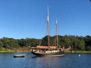 Used Custom Winfield Lash Schooner Sailboat For Sale