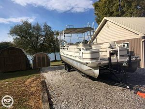 Used Jc Sun Toon 28 Pontoon Boat For Sale