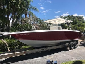 Used Marlago 31 Open With Upgraded 4 Stroke Yamahas Center Console Fishing Boat For Sale