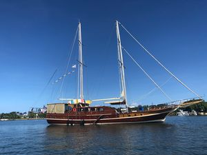 Used Motorsailer Fethiye Seme Schooner Sailboat For Sale