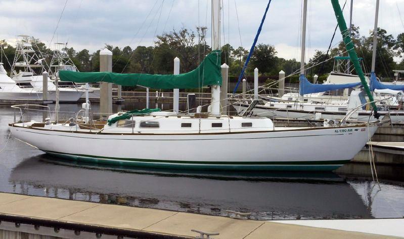 Used Jenco Marine Cal 40 Cruiser Sailboat For Sale