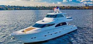 Used Horizon 82' Cockpit Motoryacht Motor Yacht For Sale
