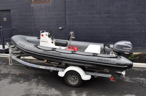 Used Ribcraft 4.8 Center Console Fishing Boat For Sale
