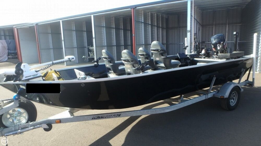 2016 Used River Hawk PRO V20 Aluminum Fishing Boat For Sale