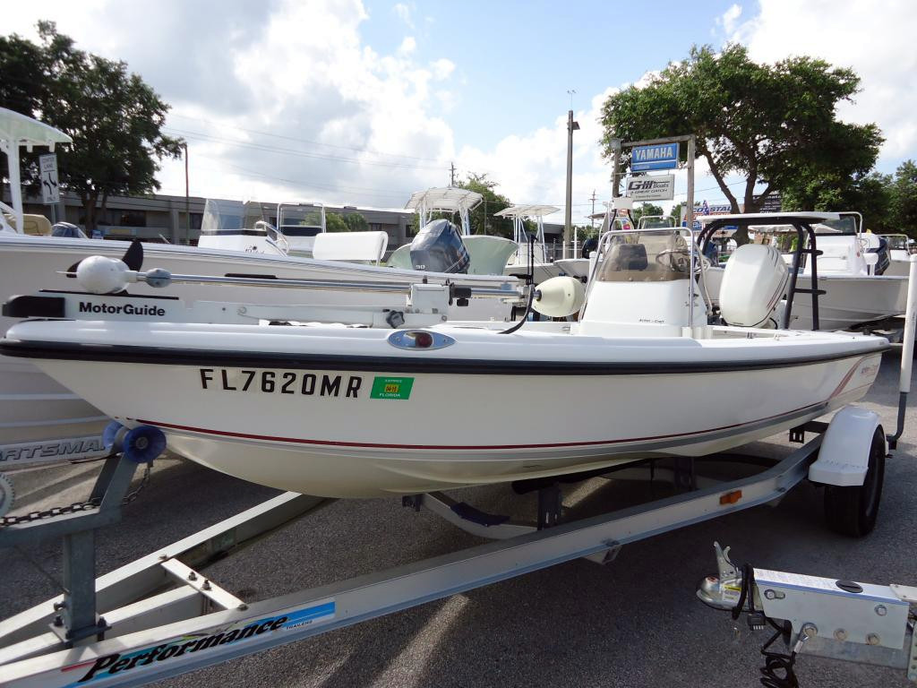 Used Action Craft 1802 Flats Pro TE Flats Fishing Boat For Sale
