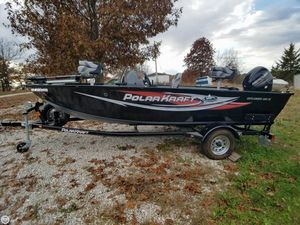 Used Polar Kraft Outlander 160SC Aluminum Fishing Boat For Sale