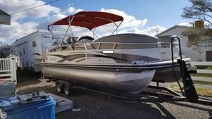 Used Sun Tracker Party Barge 25 Pontoon Boat For Sale