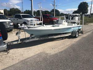 Used Beaver Tail 17 STRIKER17 STRIKER Flats Fishing Boat For Sale