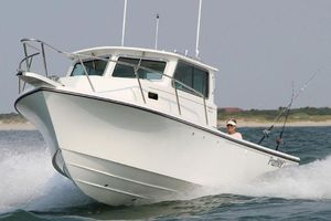 Used Parker 2520 Deep Vee Sport Cabin Center Console Fishing Boat For Sale