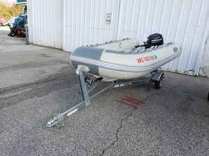 Used West Marine 350 Rib Tender Boat For Sale