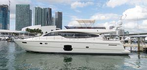 Used Ferretti Yachts 660 Flybridge Boat For Sale