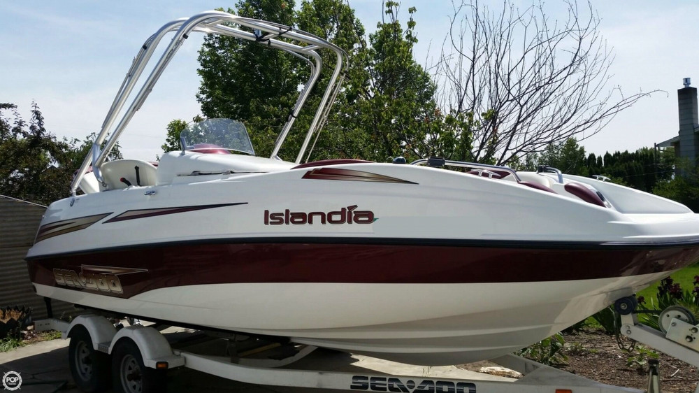 Used Sea-Doo 22 Islandia Jet Boat For Sale