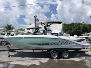 New Scarab 255 Open ID255 Open ID Center Console Fishing Boat For Sale