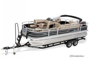 New Sun Tracker FISHIN'BARGE 20 w/ Mercury 90ELPT 4S CTFISHIN'BARGE 20 w/ Mercury 90ELPT 4S CT Pontoon Boat For Sale