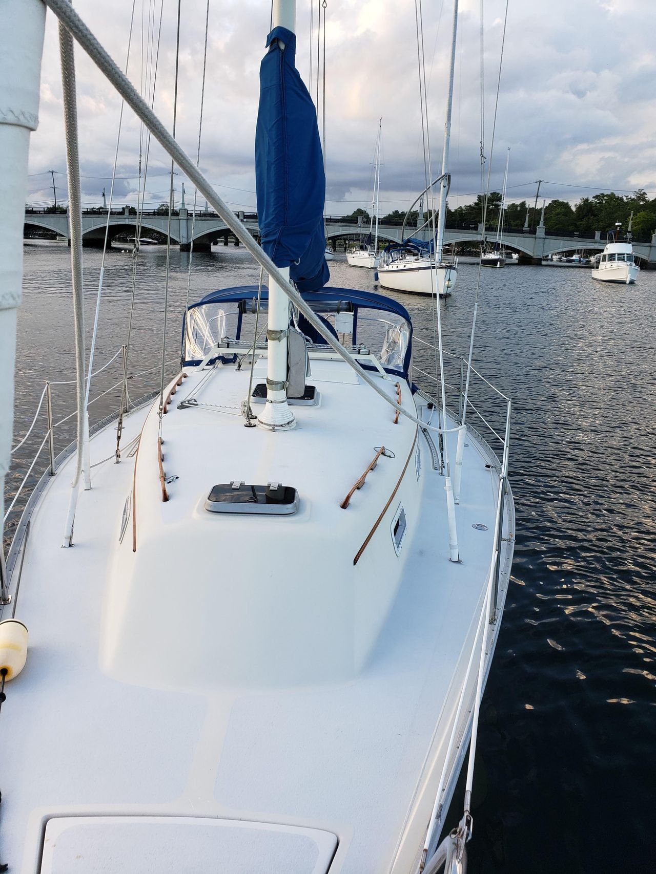 1984 Used Irwin Citation Sloop Sailboat For Sale - $12,500
