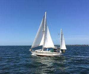 Used Crealock 37 Cruiser Sailboat For Sale