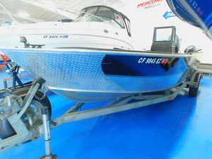 Used Alumaweld Super Vee Freshwater Fishing Boat For Sale