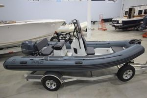 New Zodiac Pro 5.5 Rigid Sports Inflatable Boat For Sale