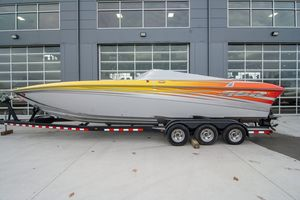 Used Sunsation 32 SSR Dominator High Performance Boat For Sale