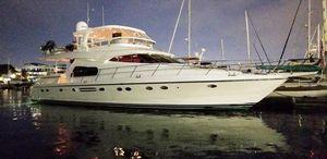 Used Johnson 70 Flybridge Hardtop Motor Yacht For Sale