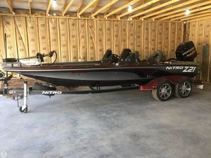 Used Nitro Z21 Bass Boat For Sale
