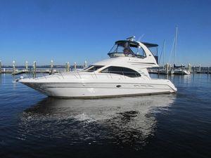 Used Sea Ray 44 Sedan Bridge Custom Bridge Motor Yacht For Sale