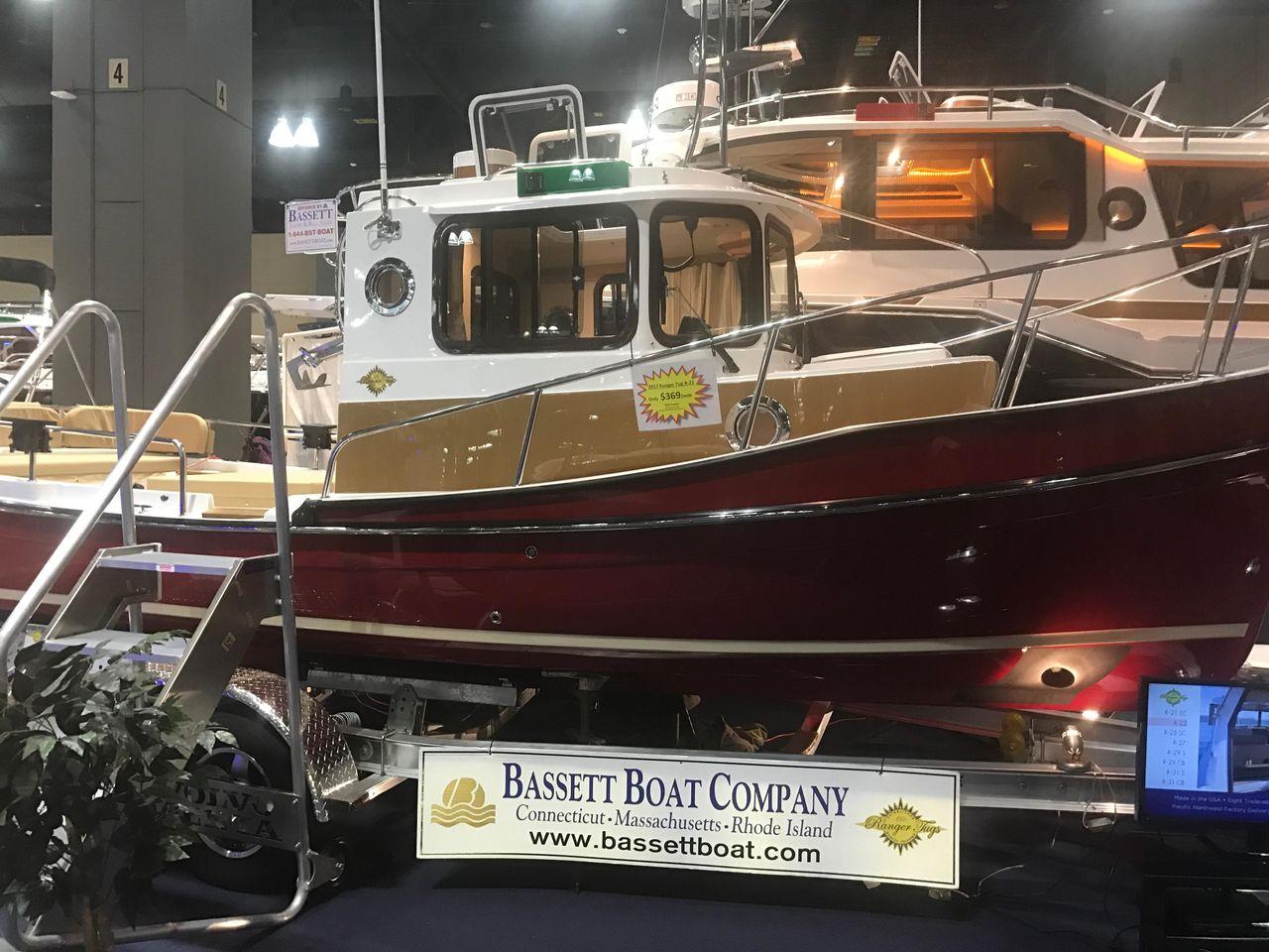 2017 Used Ranger Tugs 21 EC21 EC Downeast Fishing Boat For