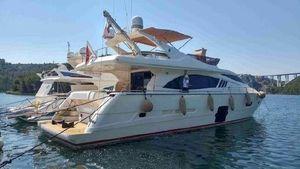 Used Ferretti Yachts 750 Flybridge Boat For Sale