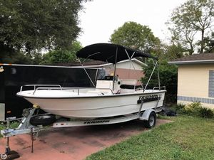 Used Triumph 1700 Skiff Fishing Boat For Sale