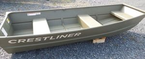 New Crestliner 1040 CR Jon1040 CR Jon Aluminum Fishing Boat For Sale